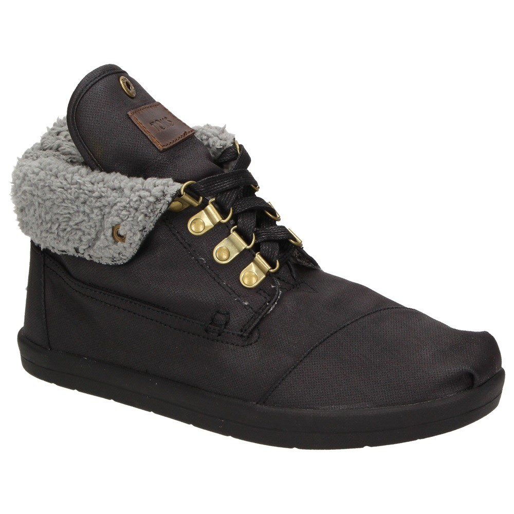 toms fleece botas herren schuhe high top winter sneaker. Black Bedroom Furniture Sets. Home Design Ideas