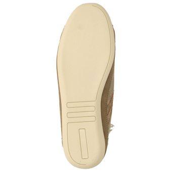 Coolway Duki Damen Mädchen Schuhe Fashion Sneakers High-Tops Leder Beige – Bild 6