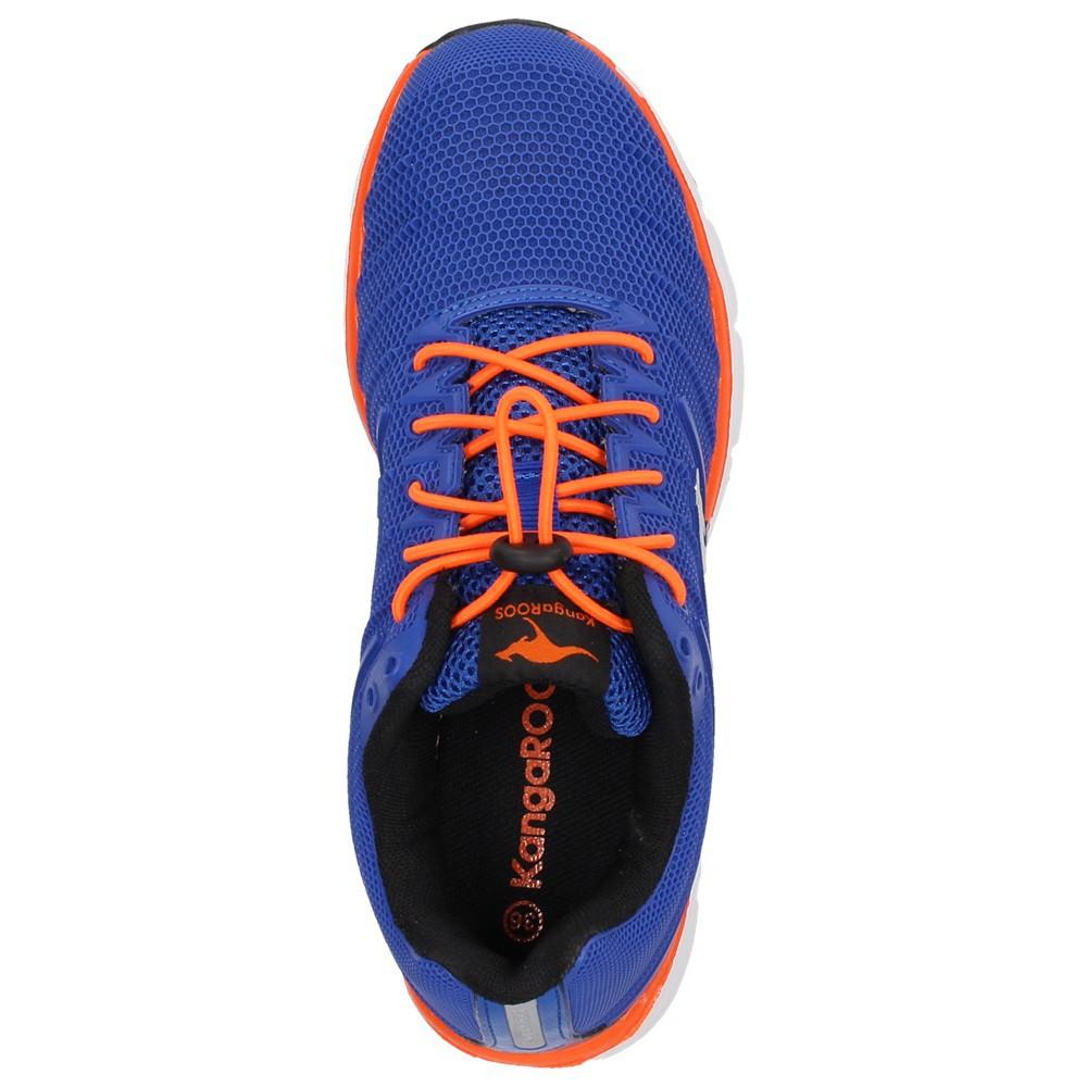 KangaROOS 1550A Kinder Sport Fitness Schuhe Sneaker Turnschuhe Blau Orange