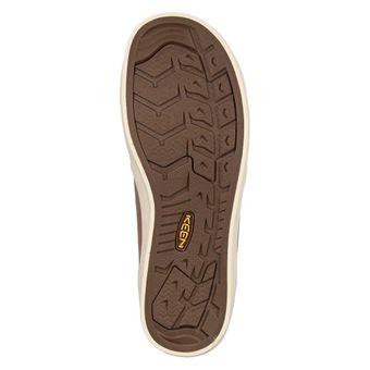 Keen Santa Cruz Leather Herren Outdoor Halbschuh Freizeitschuh Sneaker Latte Braun – Bild 5