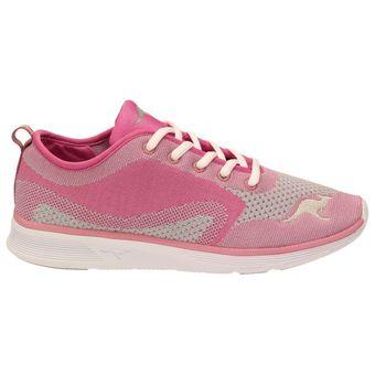 KangaROOS 8004A-629 Damen Mädchen Laufschuhe Fitness Sport Sneaker, Violett – Bild 2