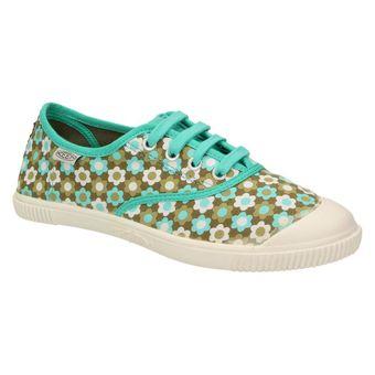 Keen Maderas Oxford Damen Schuhe Sneaker Vegan Halbschuh Freizeit türkis 001