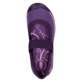 Keen Kanga MJ Damen Schuh Ballerina Slipper Schwarz Violett – Bild 12