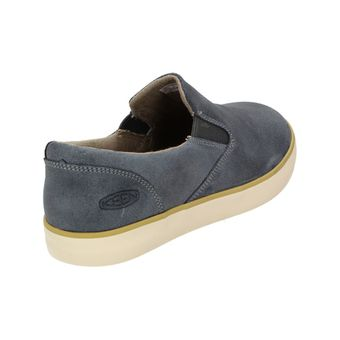Keen Santa Cruz Slip-On Leather Herren Outdoor Slipper Freizeitschuh Sneaker Blau – Bild 3