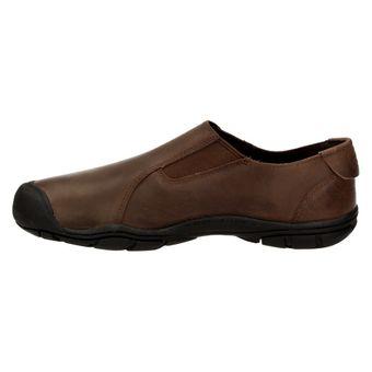 Keen Bleecker Slip On CNX Herren Schuhe Sneaker Leder Freizeit Business braun – Bild 2