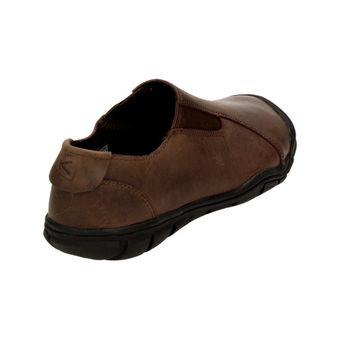 Keen Bleecker Slip On CNX Herren Schuhe Sneaker Leder Freizeit Business braun – Bild 3