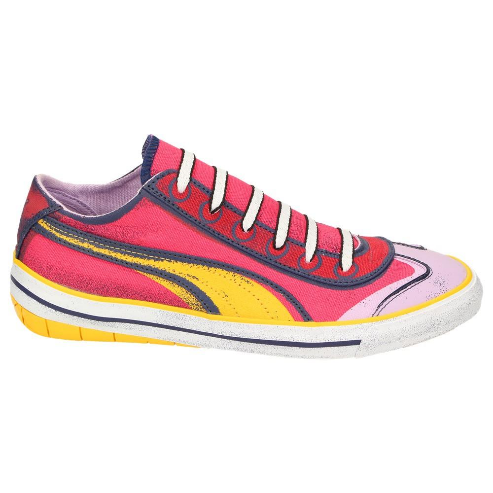 Sneaker Wn's Factory Bunt Damen Schuh 917 Schnürschuh Lo Puma Pink PqY4n