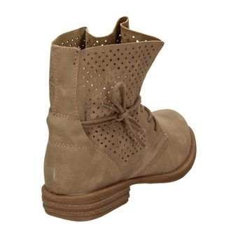 Jane Klain 251-129 Damen Schuhe Combat-Boots Stiefelette Schnürschuh Stiefelette Leder-Optik – Bild 10