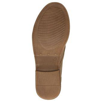 Jane Klain 251-129 Damen Schuhe Combat-Boots Stiefelette Schnürschuh Stiefelette Leder-Optik – Bild 13