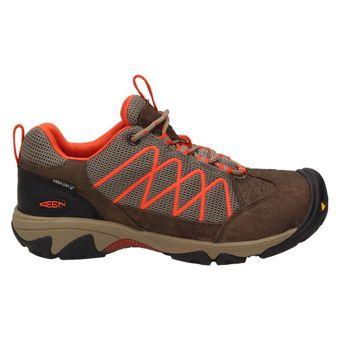 Keen Verdi II WP Damen Schuh Sneaker Sport Trekking Outdoor Braun/Orange – Bild 2