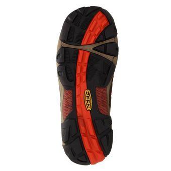 Keen Verdi II WP Damen Schuh Sneaker Sport Trekking Outdoor Braun/Orange – Bild 6