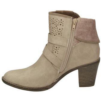 Bruno Banani 253-341 Damen Schuhe Freizeit Stiefelette Boots Leder-Optik – Bild 4