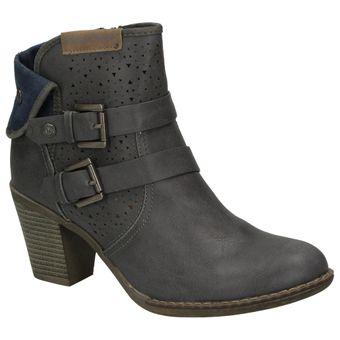 Bruno Banani 253-341 Damen Schuhe Freizeit Stiefelette Boots Leder-Optik – Bild 7