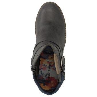Bruno Banani 253-341 Damen Schuhe Freizeit Stiefelette Boots Leder-Optik – Bild 11