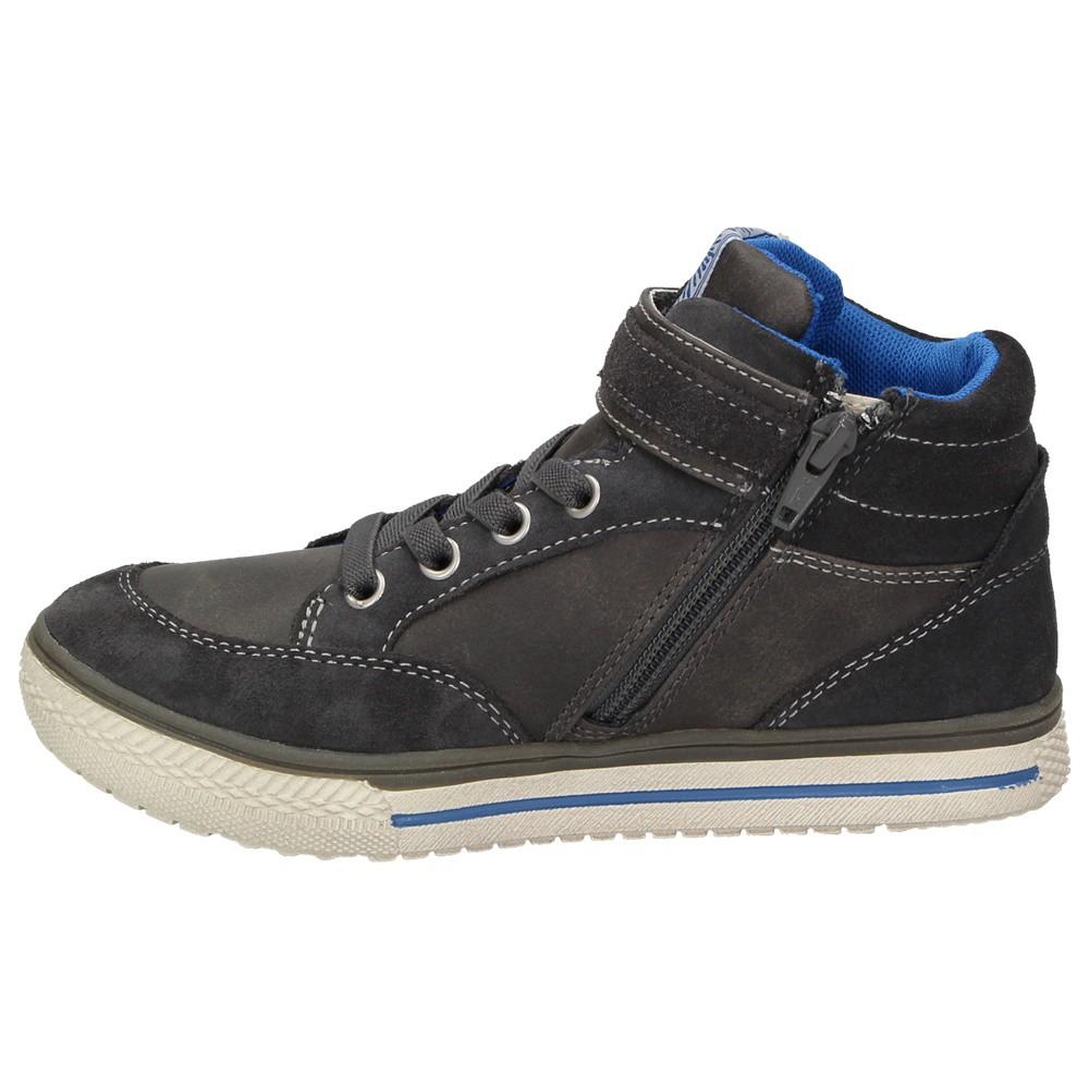 innovative design e1015 89688 Indigo Kinder Jungen Winter High-Top Sneaker Leder ...