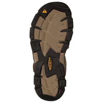Keen Sarasota Slide Damen Schuhe Trekking Sandale Outdoor Clogs Leder Freizeit Klettverschluss – Bild 12