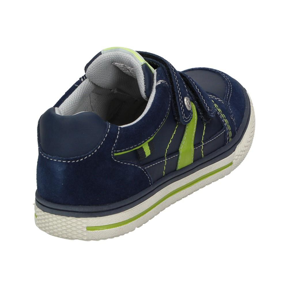 6c0cdd9380b983 Indigo Kinder Jungen Schuhe Klettverschluss Turnschuhe Freizeit Sneaker  Leder Halbschuhe Schuhgröße  32 – Bild 3