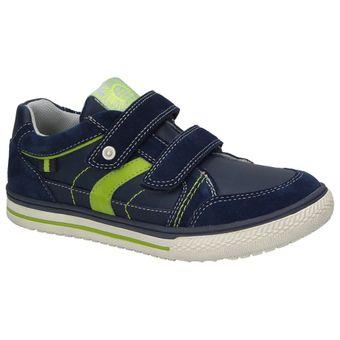Indigo Kinder Jungen Schuhe Klettverschluss Turnschuhe Freizeit Sneaker Leder Halbschuhe  001