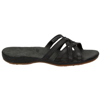 Keen City of Palms Slide Damen Schuhe Freizeit Sandale Riemchen Leder Slipper Nieten – Bild 2