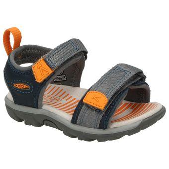 Keen Riley Kinder Schuhe Jungen Sandale Klettverschluss Lauflernschuhe Leder Komfort 001