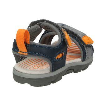 Keen Riley Kinder Schuhe Jungen Sandale Klettverschluss Lauflernschuhe Leder Komfort – Bild 3
