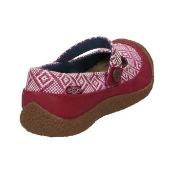 Keen Harvest MJ Button Damen Schuhe Leder Riemen Ethno Ballerinas Mary-Jane Slipper Freizeit – Bild 3