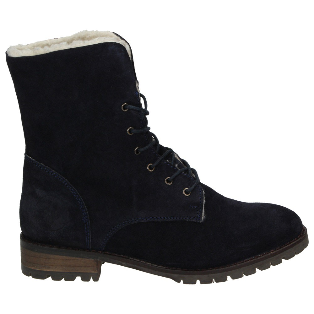 arqueonautas damen schuhe winter boots stiefel gef tterte schn rboots leder teddyfell. Black Bedroom Furniture Sets. Home Design Ideas