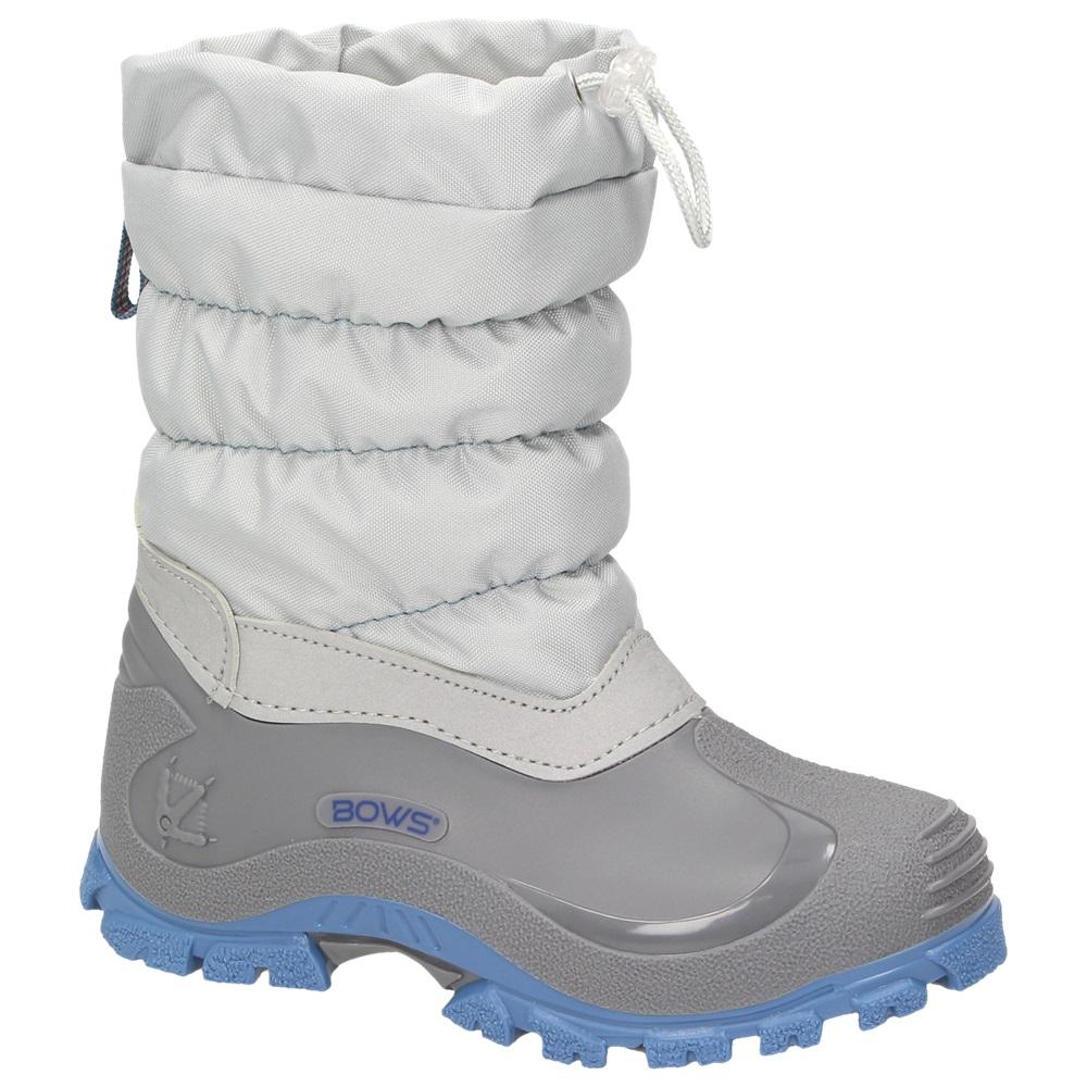 BOWS® LEO Mädchen Jungen Winter Stiefel Schnee Schuhe