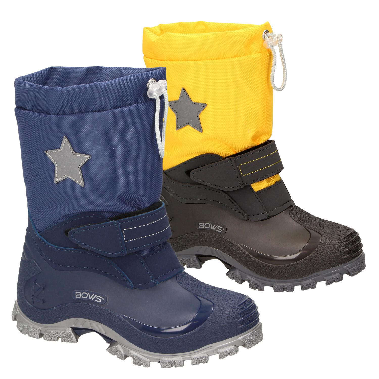 d84758a7641939 BOWS® -ROBIN- Jungen Mädchen Schuhe Kinder Schnee Winter Stiefel Winter  Boots gefüttert wasserdicht