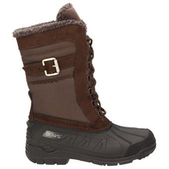 BOWS® -SUSI- Winterstiefel Damen Schnee Stiefel Snow Schuhe Winterboots warm gefüttert wasserdicht wasserabweisend  – Bild 14