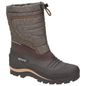 BOWS® -BENTE- Herren Damen Kinder Unisex Schnee Stiefel Winter Boots Schlupf Schuhe gefüttert wasserdicht wasserabweisende – Bild 2