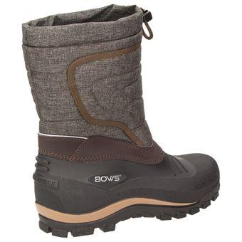 BOWS® -BENTE- Herren Damen Kinder Unisex Schnee Stiefel Winter Boots Schlupf Schuhe gefüttert wasserdicht wasserabweisende – Bild 4