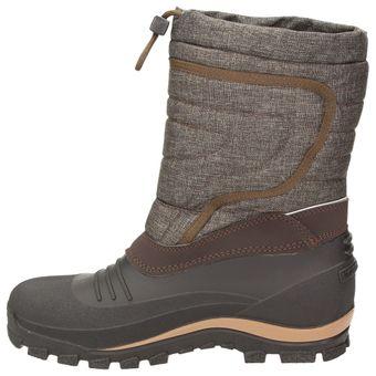 BOWS® -BENTE- Herren Damen Kinder Unisex Schnee Stiefel Winter Boots Schlupf Schuhe gefüttert wasserdicht wasserabweisende – Bild 5