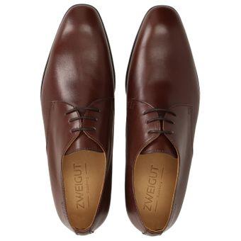 ZWEIGUT® smuck #250 Herren Business Schuhe Vollleder Derby Schnürschuhe – Bild 6