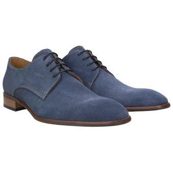 ZWEIGUT® smuck #251 Business Schuhe Herren Derby Schnürer Veloursleder Schnürhalbschuhe 001