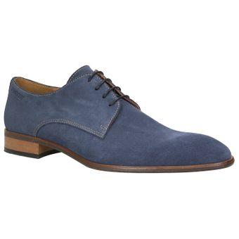 ZWEIGUT® smuck #251 Business Schuhe Herren Derby Schnürer Veloursleder Schnürhalbschuhe – Bild 2