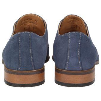 ZWEIGUT® smuck #251 Business Schuhe Herren Derby Schnürer Veloursleder Schnürhalbschuhe – Bild 5