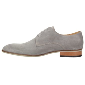 ZWEIGUT® smuck #251 Business Schuhe Herren Derby Schnürer Veloursleder Schnürhalbschuhe – Bild 4