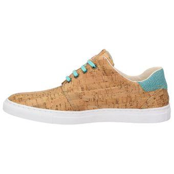 ZWEIGUT® echt #402 Herren Schuhe Allwettertauglich Halbschuhe Bio-Baumwolle Sneaker, vegan + nachhaltig aus echtem Kork – Bild 4