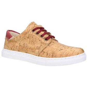 ZWEIGUT® echt #401 Kork Allwettertauglich Schuhe Damen Halbschuhe Sneaker, vegan + nachhaltig aus echtem Kork – Bild 2