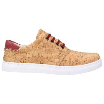 ZWEIGUT® echt #401 Kork Allwettertauglich Schuhe Damen Halbschuhe Sneaker, vegan + nachhaltig aus echtem Kork – Bild 3