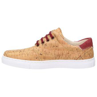 ZWEIGUT® echt #401 Kork Allwettertauglich Schuhe Damen Halbschuhe Sneaker, vegan + nachhaltig aus echtem Kork – Bild 4