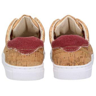 ZWEIGUT® echt #401 Kork Allwettertauglich Schuhe Damen Halbschuhe Sneaker, vegan + nachhaltig aus echtem Kork – Bild 5