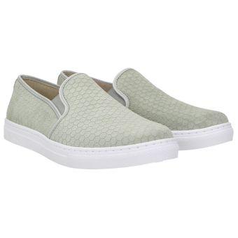 7cc917c0464348 ZWEIGUT® smuck  stella Damen Schuhe Slipper Leder Slip-Ons – Bild 1