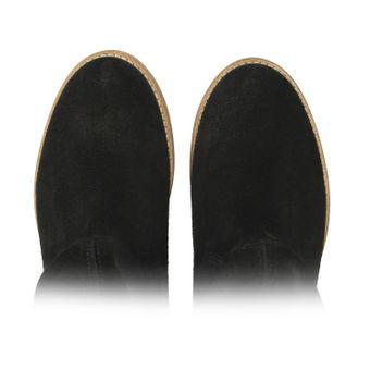 ZWEIGUT® smuck #210 Damen Lederboots Stiefelette Wildleder schmale Fußbreite Schuhe leicht und weich – Bild 6