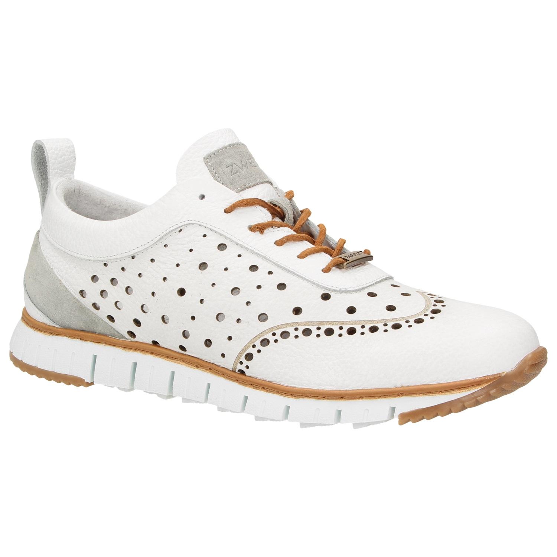 ZWEIGUT® -Hamburg- komood  356 Herren Sneaker Leder Schuhe luftiges  Brogue-Muster 6569d8e1c0