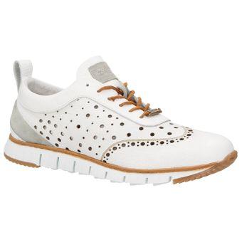 ZWEIGUT® -Hamburg- komood #356 Herren Sneaker Leder Schuhe luftiges Brogue-Muster auf extrem flexibler Sohle – Bild 2