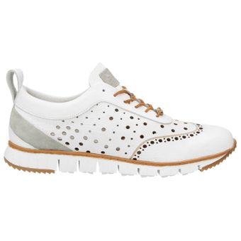 ZWEIGUT® -Hamburg- komood #356 Herren Sneaker Leder Schuhe luftiges Brogue-Muster auf extrem flexibler Sohle – Bild 3