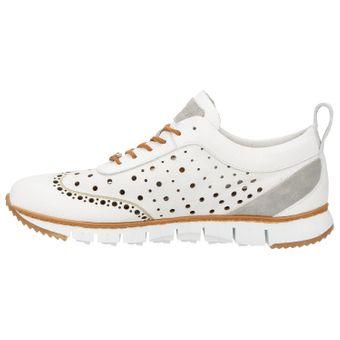 ZWEIGUT® -Hamburg- komood #356 Herren Sneaker Leder Schuhe luftiges Brogue-Muster auf extrem flexibler Sohle – Bild 4