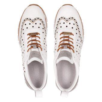 ZWEIGUT® -Hamburg- komood #356 Herren Sneaker Leder Schuhe luftiges Brogue-Muster auf extrem flexibler Sohle – Bild 6